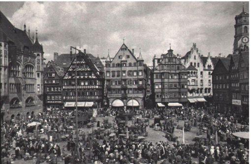 Die alte  Pracht einer stolzen Stadt