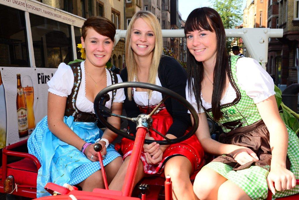 Pünktlich zum Cannstatter Volksfestumzug kam am Sonntag die Sonne raus. Wir haben die Bilder. Foto: www.7aktuell.de |