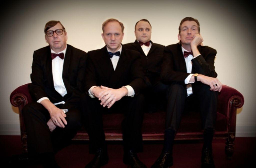 Seit zwanzig Jahren eine Band: Ulrich Tukur & die Rhythmus Boys Foto: Christine Schröder