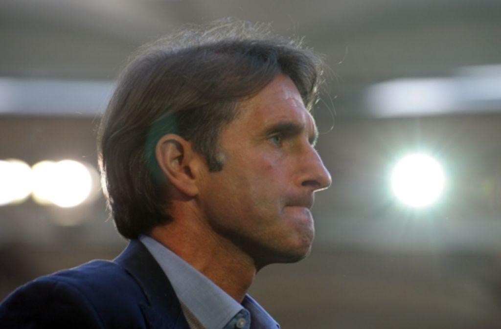 VfB-Trainer  Bruno Labbadia hat aus seiner Sicht alles gesagt. Foto: dpa