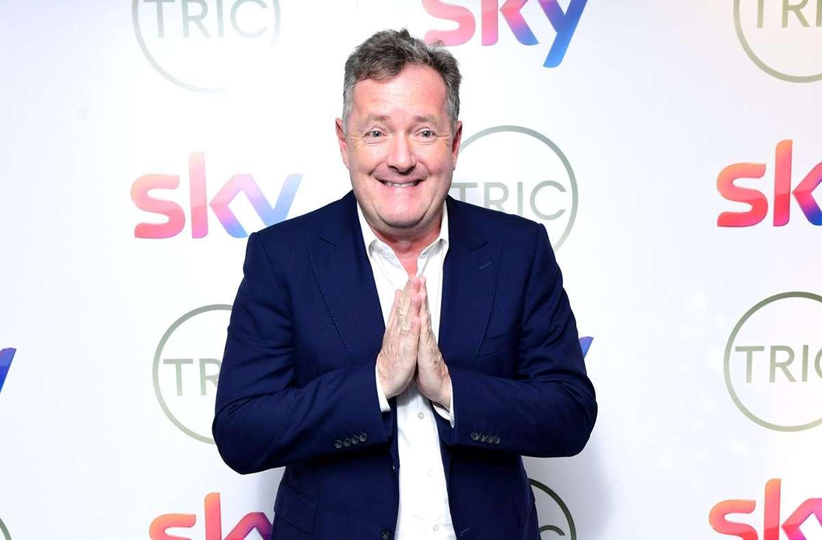 Piers Morgan ist ein britischer Moderator – und für seine beißende Kritik bekannt. Foto: dpa/Ian West