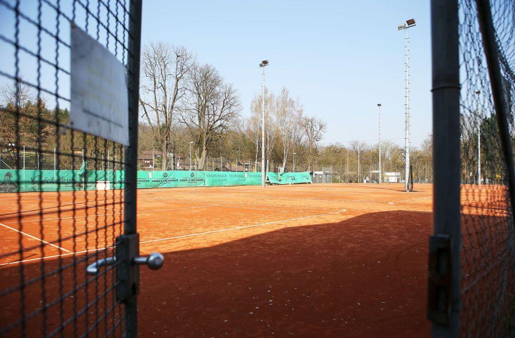 Ab nächster Woche darf wieder Tennis gespielt werden. Foto: Pressefoto Baumann/Alexander Keppler