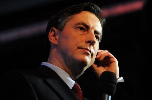 McAllister grüßt als Ministerpräsident