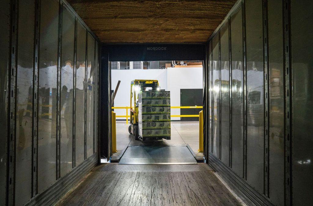 Wenn Kredite ausfallen, muss das Start-up  auf die als Sicherheit genommenen  Waren im Lager   zugreifen können. Foto: Unsplash/Elevate