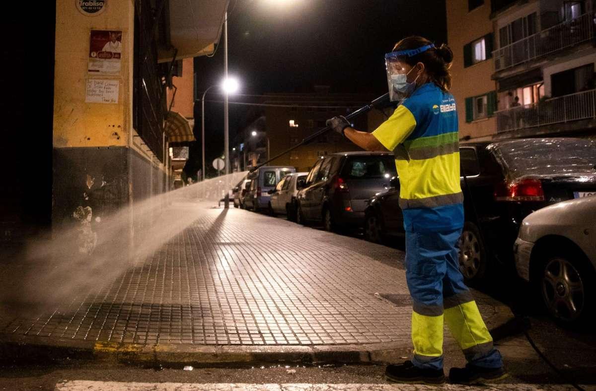 Ganz Spanien wurde von Berlin zum Risikogebiet erklärt. Foto: AFP/JAIME REINA