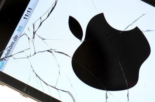 iPhone-Verkäufe unter Erwartungen