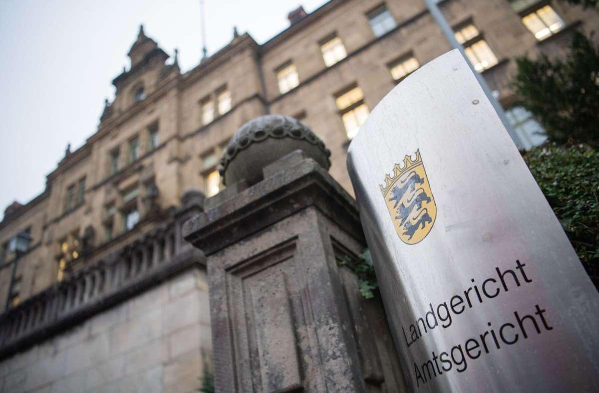 Vor dem Landgericht Tübingen (Archivbild). Foto: dpa/Tom Weller