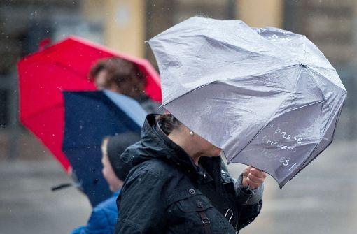 In Stuttgart und der Region wird es stürmisch