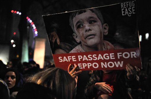Die letzten Hilferufe aus Aleppo