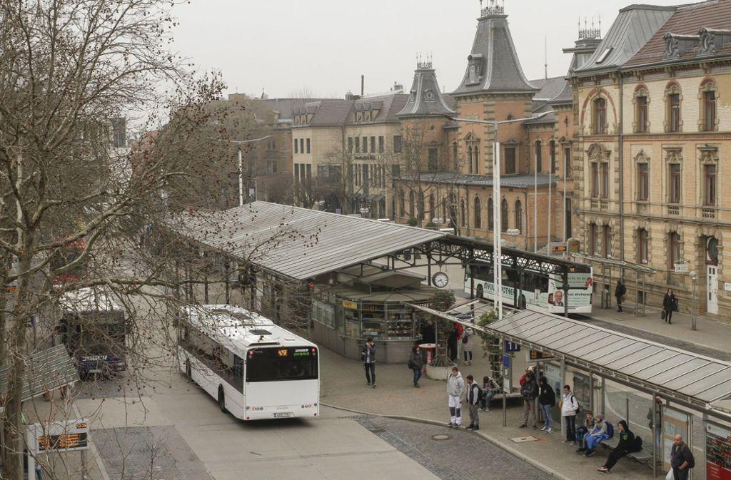 Wie kommt die Stadtbahn am Ludwigsburger Bahnhof vorbei? Einer der Streitpunkte. Foto: factum/Bach