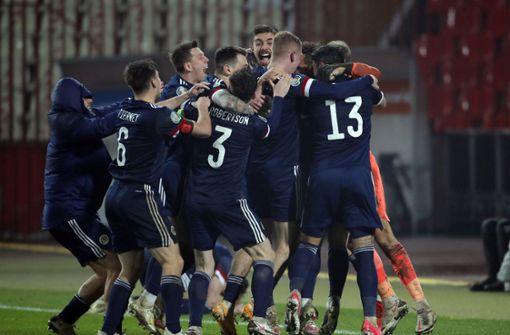 So rasten die Schotten nach EM-Qualifikation aus