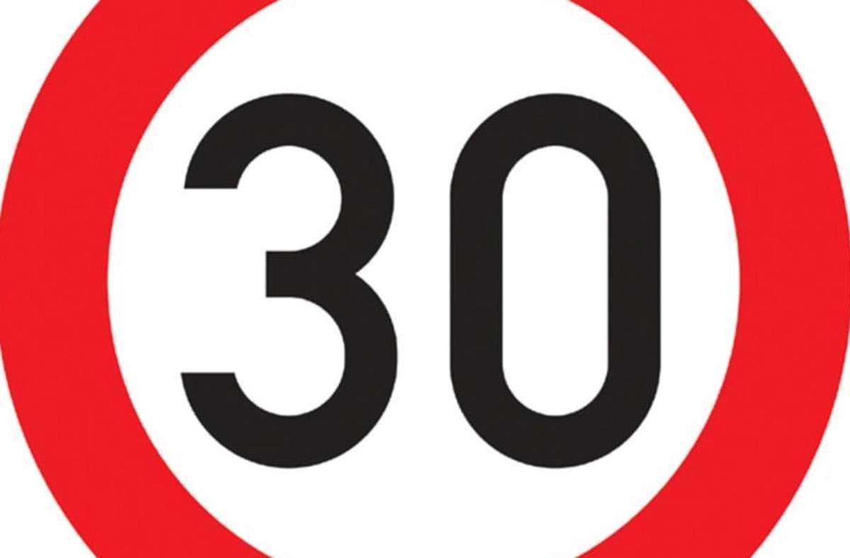 Tempo 30 soll die Sicherheit vor Schulen, Kitas und Altenheimen in Sindelfingen erhöhen. Foto: Archiv