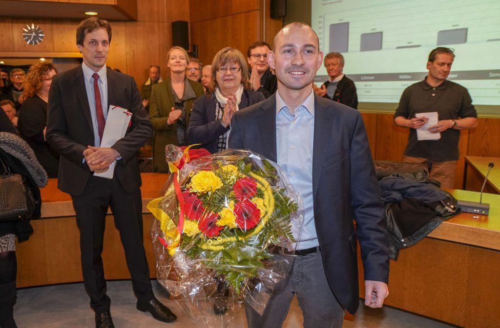 Stefan Belz ist der neue Oberbürgermeister von Böblingen. Foto: factum/Weise