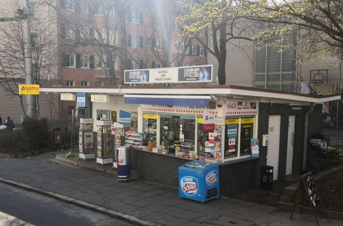Kiosk-Romantik am Vogelsang. Foto: Björn Springorum