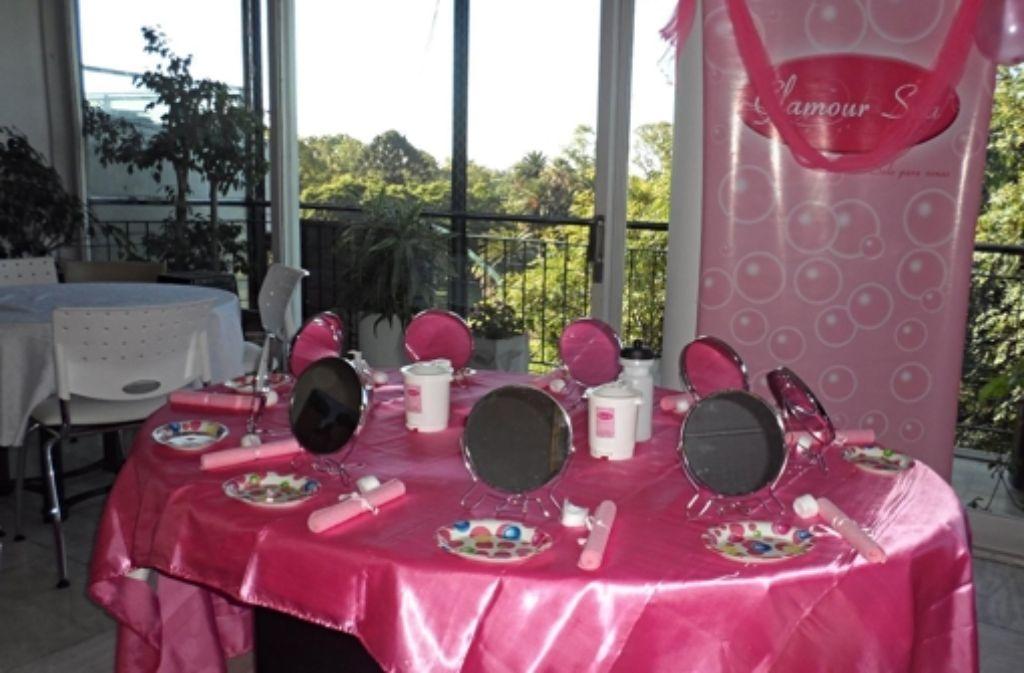 Für Fortgeschrittene: Kindergeburtstag im Kosmetiksalon Foto: dpa/Glamour Spa