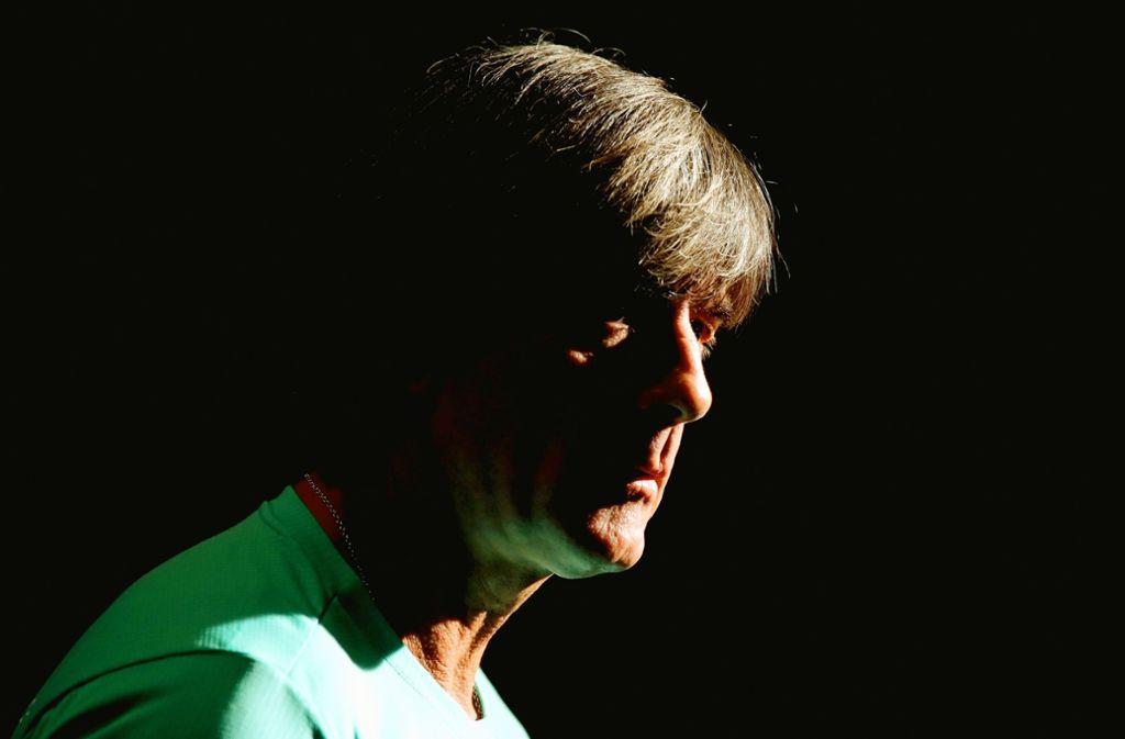 Düstere Zeiten für Joachim Löw – aber den Bundestrainer plagen keine Selbstzweifel. Foto:Getty Foto: