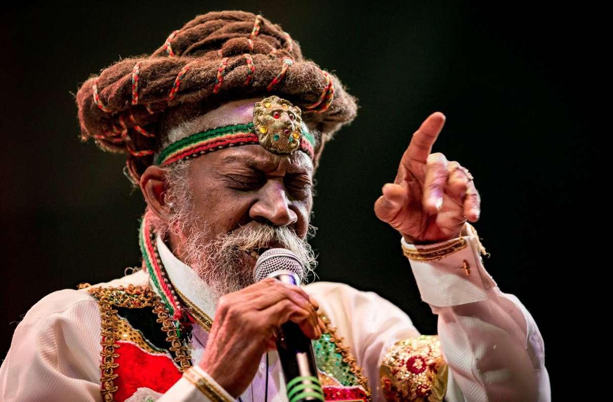 Bunny Wailer war der Halbbruder von Bob Marley. Foto: imago images/MediaPunch/Erik Kabik