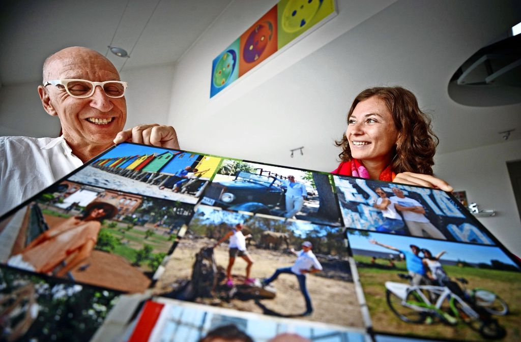 Joachim Materna und Ellen Kuhn zehren von den Eindrücken ihrer Reisen. Foto: Gottfried Stoppel