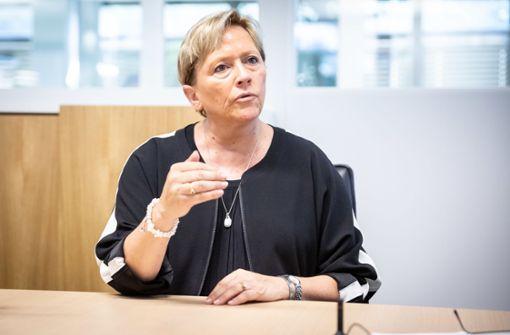 Susanne  Eisenmann geht für Union ins Rennen