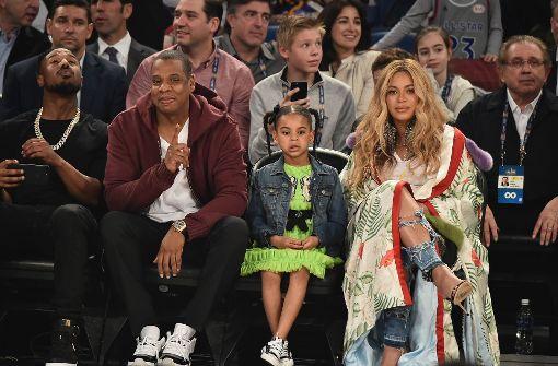 Beyoncé und Jay-Z begeistert von Allstar-Game