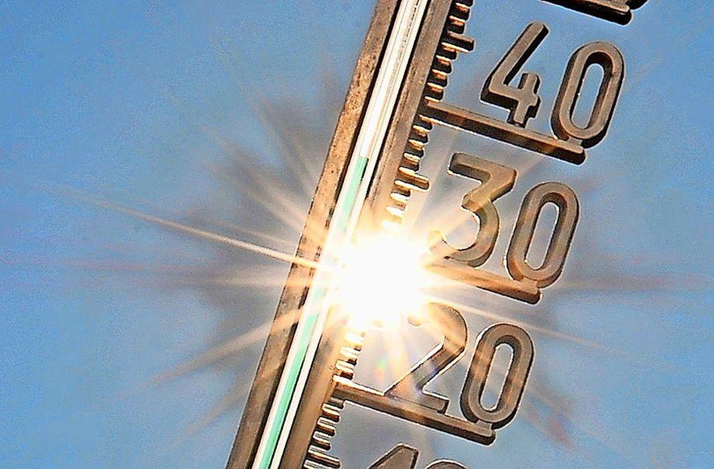 Auch in Stuttgart wird es immer wärmer. Foto: dpa