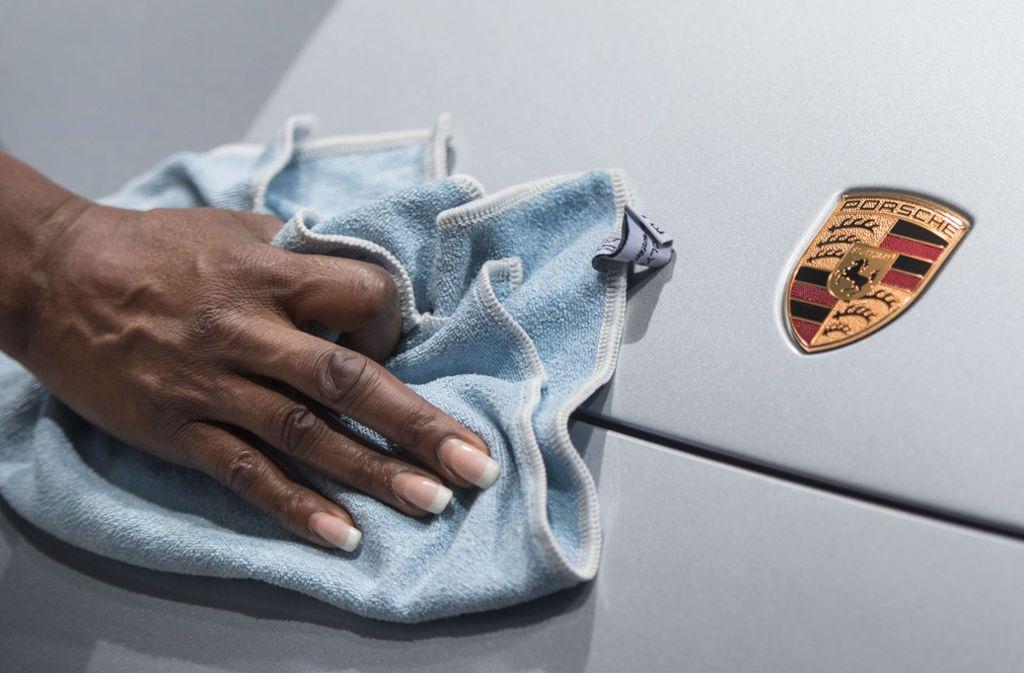 Auf Vordermann: Porsche SE legt eine gute Halbjahresbilanz vor. (Symbolbild) Foto: dpa