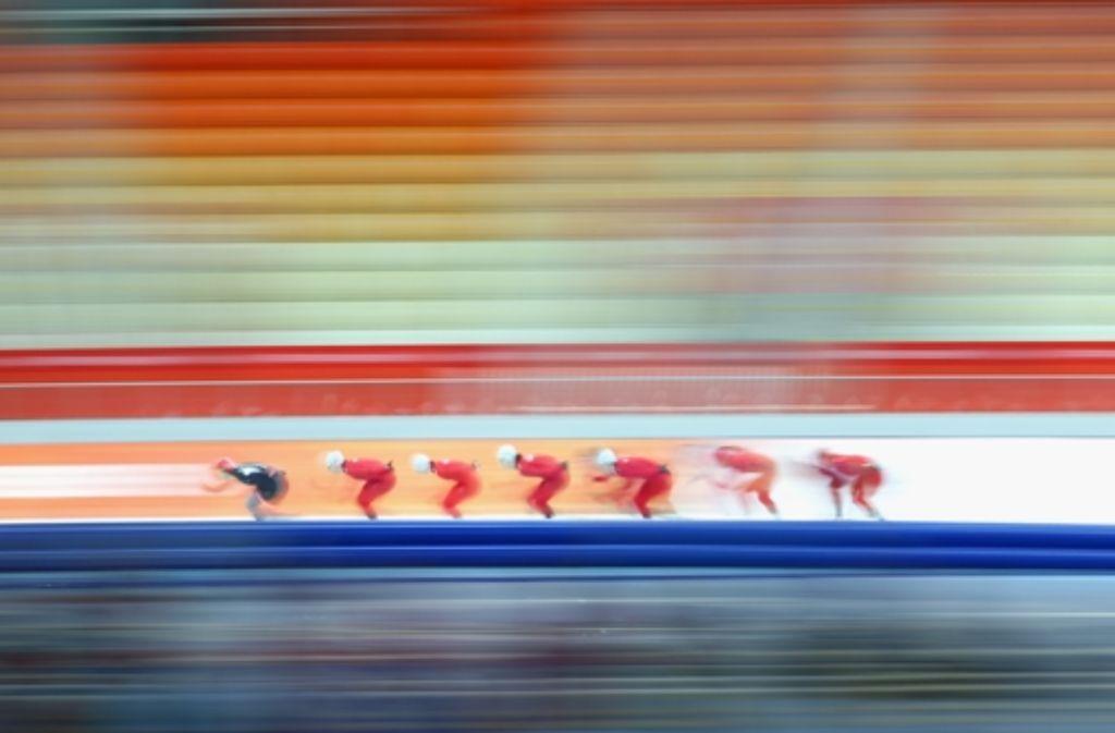 Warmlaufen für Sotschi: Am Freitag beginnen die Olympischen Winterspiele. Foto: Getty Images Europe