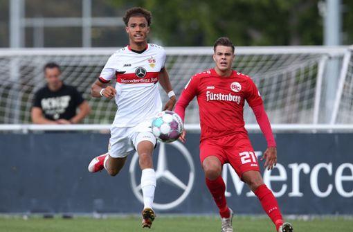 U21 des VfB klettert nach Sieg in der Tabelle weiter nach oben