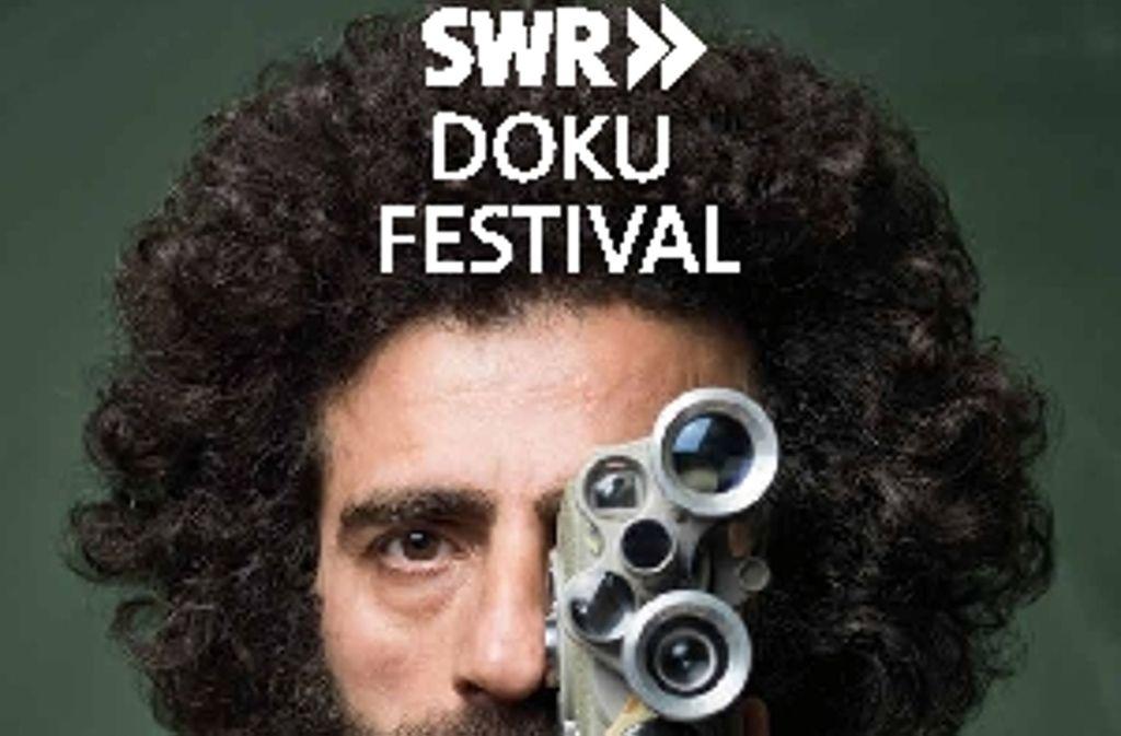 Mit diesem Plakat wirbt der SWR für sein erstes Doku Festival in Stuttgart. Foto: SWR