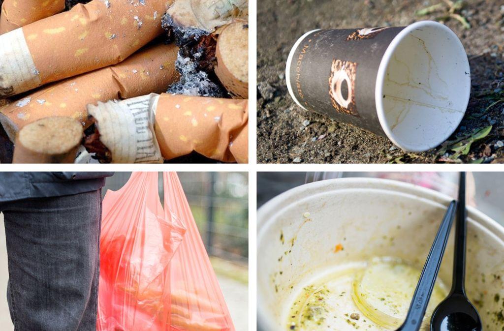 Hersteller zahlen für Verpackungen bereits eine Gebühr an die Dualen Systeme, die etwa über gelbe oder orangene Tonne für die Entsorgung und das Recycling von Verpackungsmüll in Haushalten zuständig sind. Foto: dpa/Martin Gerten/Inga Kjer/Sebastian Gollnow/