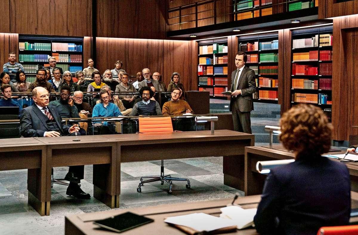 Schwierige Verhandlungen im Gerichtssaal Foto: ARD Degeto/Moovie GmbH/Julia Ter