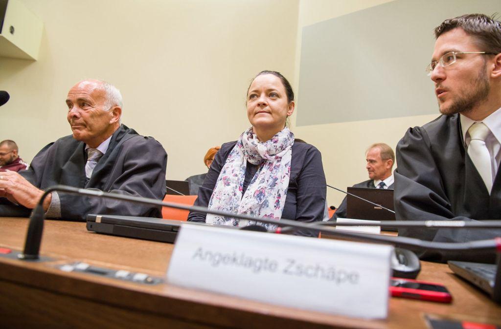 Nach fünf Jahren wird im NSU-Prozess mit der Hauptangeklagten Beate Zschäpe  ein Urteil erwartet. Foto: dpa