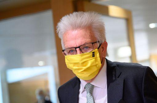 Kretschmann plant ein neues Corona-Hilfspaket