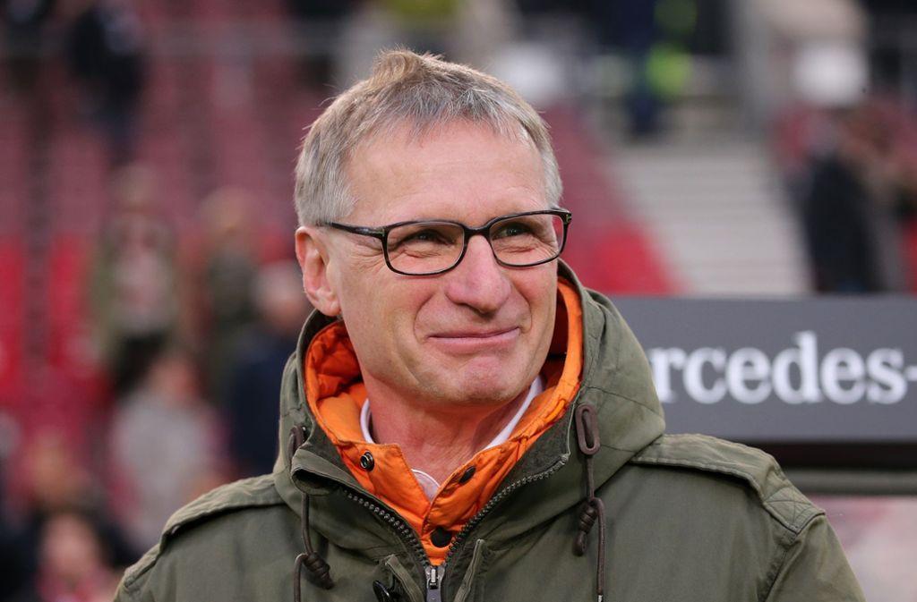 Michael Reschke, Sportchef des VfB Stuttgart, wurde am Deadline Day nicht aktiv. Foto: Pressefoto Baumann