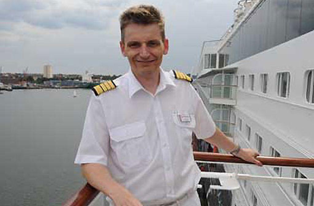 Kapitän Michael Block.  Foto: TUI Cruises
