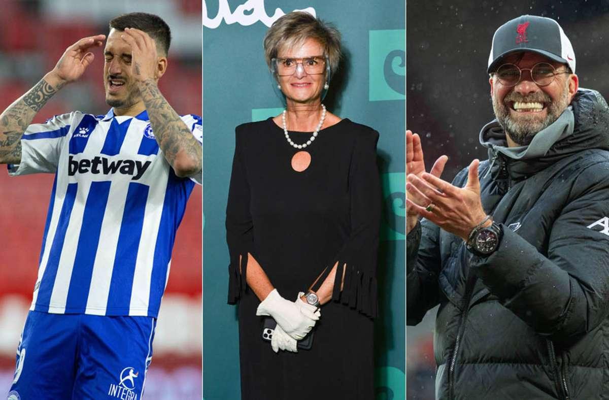 Was verbindet den Fußballer Joselu, Fürstin Gloria von Thurn und Taxis und den Trainer Jürgen Klopp? Alle wurden in Stuttgart geboren. Foto: Imago/Xinhua