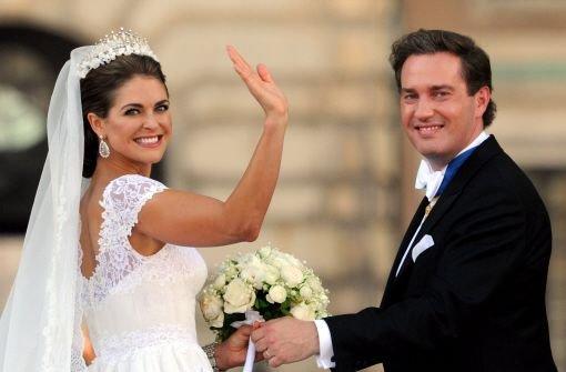 Glückstränen bei Madeleines Hochzeit