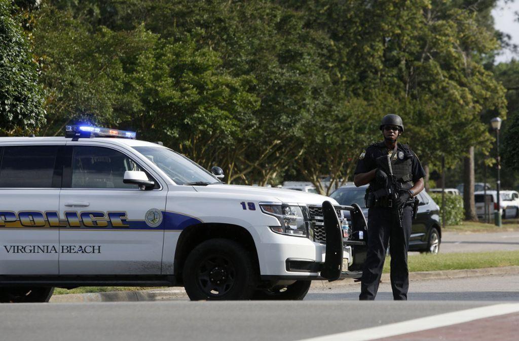 Im US-amerikanischen Virginia Beach hat sich ein Amoklauf ereignet. Foto: AP