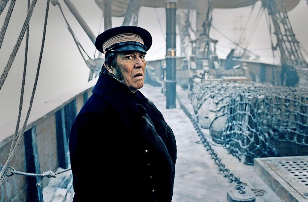 Sir John Franklin (Ciarán Hinds ) will die Arktis für England bezwingen. Foto: AMC