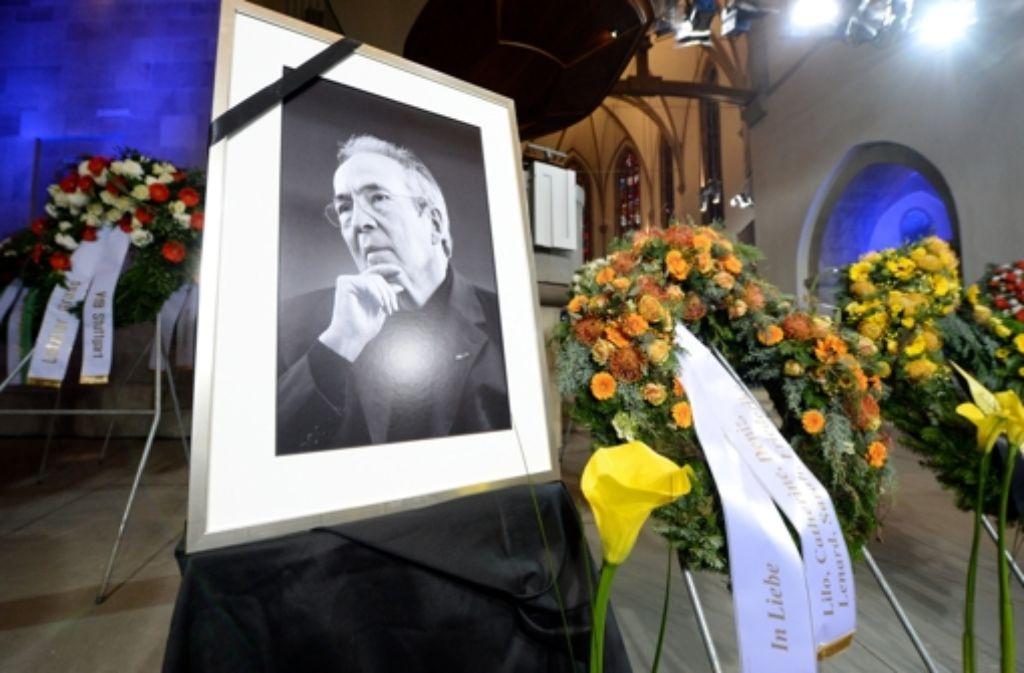 Am 7. November 2013 ist Manfred Rommel im Alter von 84 Jahren verstorben. Die Nachricht von seinem Tod wurde über die Grenzen von Stuttgart hinaus mit großer Bestürzung aufgenommen. Foto: dpa