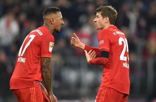 Trainings-Zoff bei Bayern zwischen Boateng und Goretzka