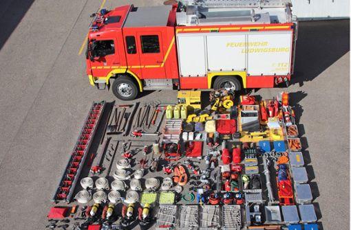 So viel Equipment passt in ein Feuerwehrauto