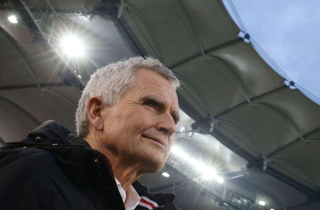 Will sich demnächst zum Thema Vereinsentwicklung äußern: VfB-Präsident Wolfgang Dietrich. Foto: Baumann