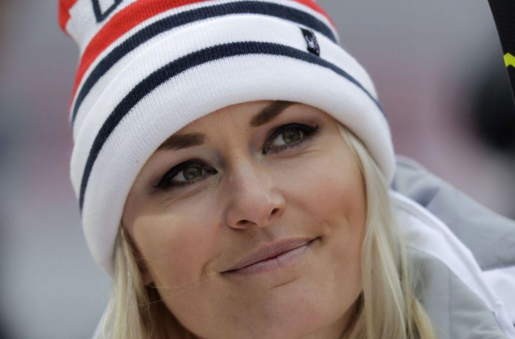 Skistar Lindsey Vonn hat ihren Rücktritt nach dem Ende der kommenden Saison angekündigt. Foto: AP