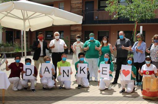 10 000 Mundschutzmasken für die Region