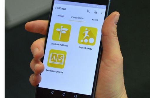 Neue App bietet Migranten Orientierung in Fellbach