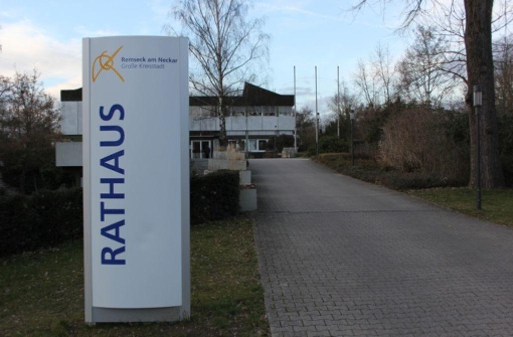 Das Remsecker Rathaus wird umgebaut, und das nicht nur äußerlich: Künftig gibt es zwei Stellvertreter für den Oberbürgermeister Dirk Schönberger. Foto: Pascal Thiel