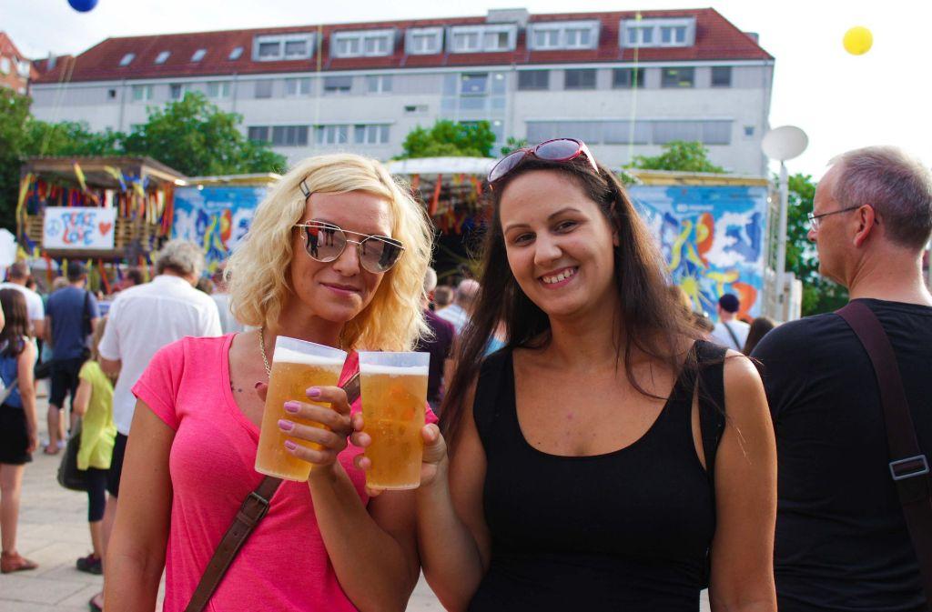 Gutes Wetter und tolle Stimmung prägen das Bild auf dem Marienplatz. Foto: 7aktuell.de/ Max