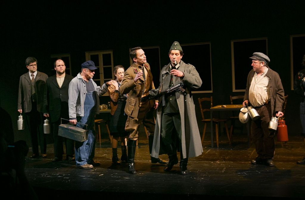 Ganz so barmherzig, wie es der Titel verspricht, sind die Bewohner von Martinsried im Stück von  Oliver Storz nicht. Foto: Ines Rudel