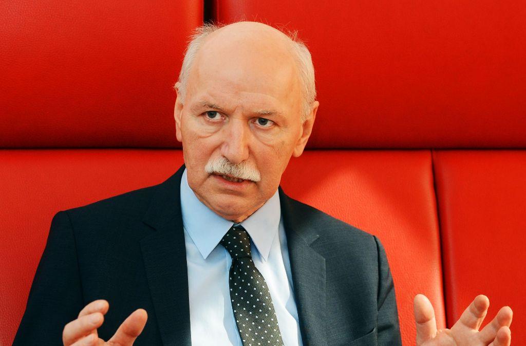 Der ehemalige TV-Moderator Wieland Backes wirbt für eine Neuordnung des Kulturquartiers. Foto: dpa